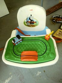 Thomas the train booster seat.  Round Hill, 20141