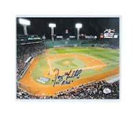 Doug Mirabelli Boston Red Sox Autographed 2004 World Series 1st Pitch Photo w/ COA North Billerica, 01862