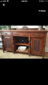 Antique buffet entry piece media console  Palatine, 60067