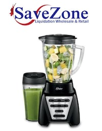 New- Oster Pro 1200 Watts Blender Plus With Smoothie Cup Mississauga