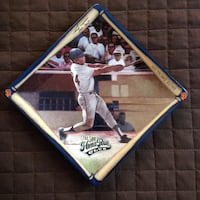 Willie Mays Collectible Plate Miami, 33161