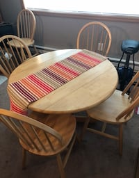 Drop leaf dining table + 5 chairs Everett, 98203