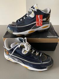"New w/tags and box sz10.5 Iverson ""The Answer"" Navy/Gold Hanover, 21076"