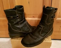 Rieker SOFT black leather boots - sz 7 Minneapolis, 55441