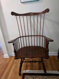 1954 Stickley Cherry Valley High Fan Back Windsor Chair