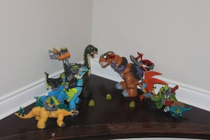 Huge lot of Fisher Price Imaginext Dinosaur Sets