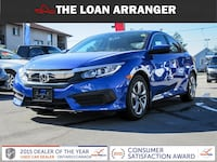 2017 honda civic with 16,823km and 100% approved financing Ajax