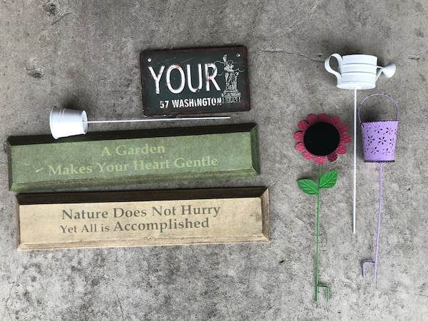Used New Garden Signs And Decorations For Sale In San Jose Letgo