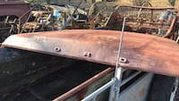 Ford f100 1979 hood solid brown color