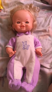 baby doll in pink onesie Montreal, H3W 2E6