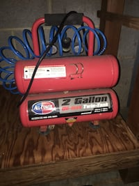 Red and black air compressor Annapolis, 21403