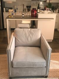 Dryden Crate & Barrel chair null