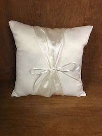 Ring bearer pillow ivory  North Canton, 44720