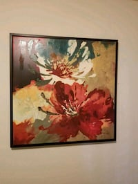 Mulitcolor flower painting Affton, 63123