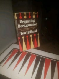 Backgammon table excellent condition