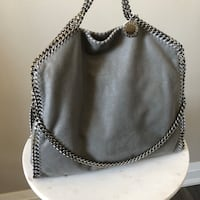 Stella McCartney Grey Three-Chain Falabella Tote  Toronto, M5B 2L7