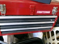 red and black Craftsman tool chest Cape Coral, 33909