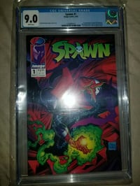 Cgc graded Spawn #1 Lexington, 40517