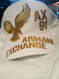 NWT Mens Armani Exchange Trucker Hat Adjustable  Calgary, T3P