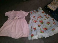 girl's white and pink floral dress Brooklyn, 11218