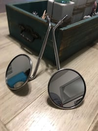 Used chrome motorcycle mirrors