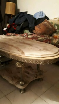 Marble coffee table and 2 end tables Toronto, M4B 2N6