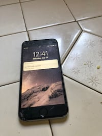 iPhone 6S 64g cracked screen L0ck3d Los Angeles, 91324