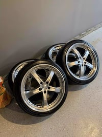 "20' Rim and Tire Set ""TSW WHEELS"""