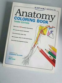 NEW Anatomy Colouring Book Mississauga, L5G 1N8