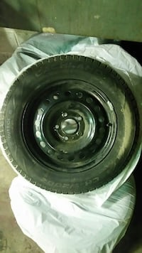 195/65R15 Winter Tires with rims.