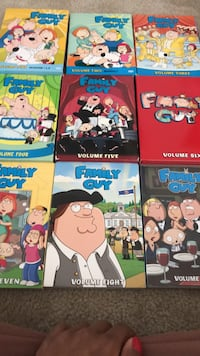 Family Guy DVDs, Volumes 1-9  Washington, 20019