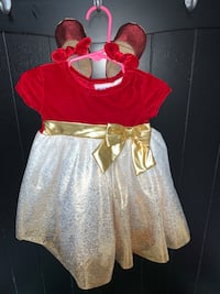 Holiday dress with shoes, 12M Greensboro, 21639