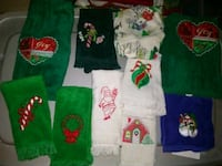 New Holiday Dish Rags/Towels(All 10) Nashville, 37214
