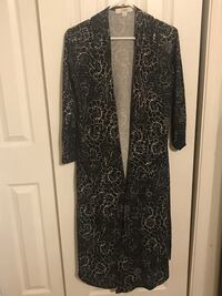 Lularoe Black and white Sarah floral long sleeve dress Manassas, 20112