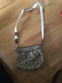 Brown coach sling bag Surrey, V4N 2X3