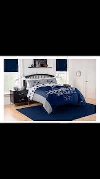 DALLAS COWBOY- FULL/ QUEEN 3- PIECE COMFORTER SET Burke, 22015