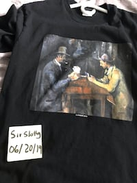 Authentic Size M Supreme Cards Tee