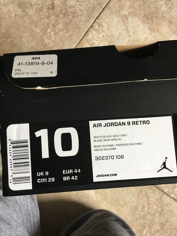5650457322a Used Air Jordan 9 Retro for sale in Sanford - letgo