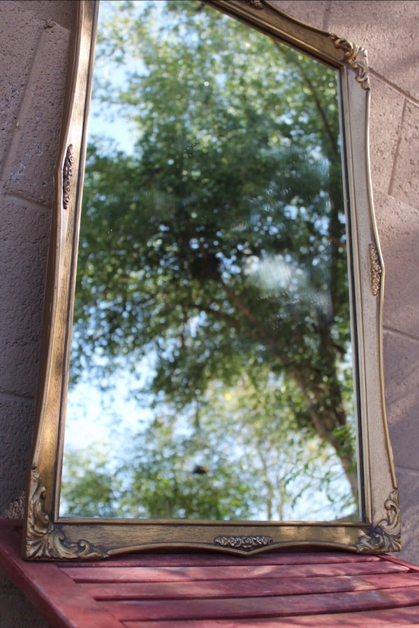 Used Solid Antique Wood Framed Mirror For Sale In Livermore Letgo