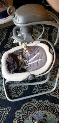 Greco duetsoothe baby swing and rocker Severn, 21144