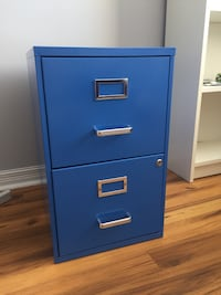 Beautiful Blue Filing Cabinet Laval, H7N 4Z7