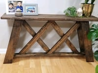 Console Table - Side table real wood