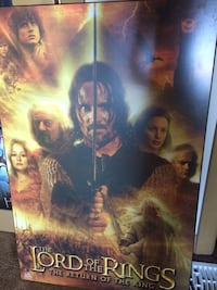 The lord of the rings poster Edmonton