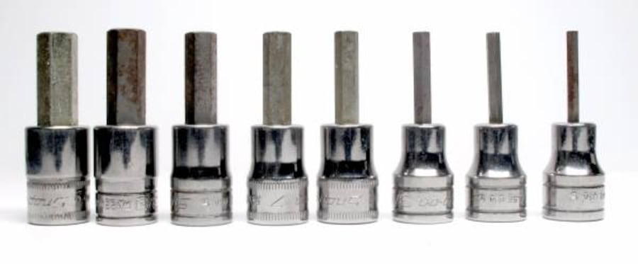 Snap-On 8-Pc Standard And Metric Hex Socket Drivers d3684a8c-2452-4ffd-9ccf-cfb56fead5ac