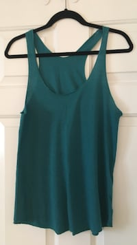 Women's teal tank top Surrey, V3W 5V6