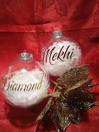 Personalized Christmas Ornaments Mississauga, L5L 5A7