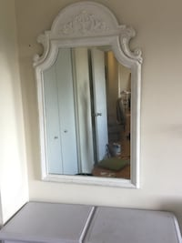 white wooden framed wall mirror Gatineau, J8Z 1L6