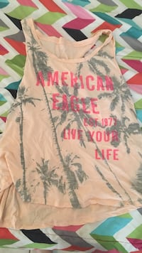 pink and grey American Eagle tank top Gulfport, 39503