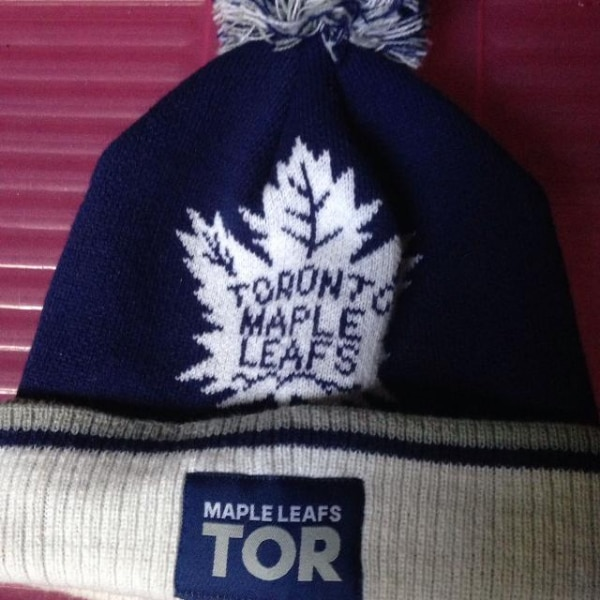 830077490bc Used Toronto Maple Leafs beanie hat toque knit for sale in Whitby - letgo
