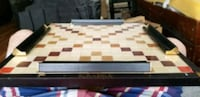 VERY RARE Black leather & suede Scrabble gameboard Toronto, M6P 1W1